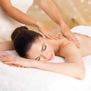 Image of woman having a Pregnancy Massage Treatment